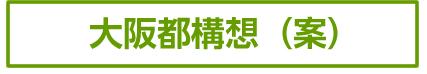 大阪都構想(案)